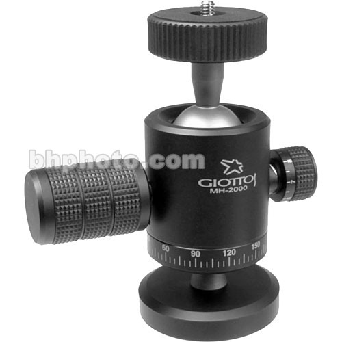 Giottos MH 2000 Large Ball Head with Double Socket