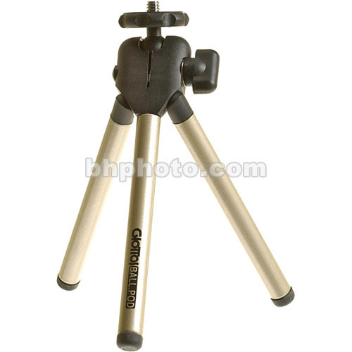 Giottos Compact Ball-Pod Tripod with Case (Titanium)