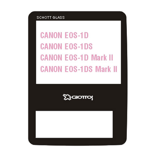 Giottos Aegis Professional M-C Schott Glass LCD Screen Protector for Canon EOS-1D/1Ds/1D Mark II/1Ds Mark II