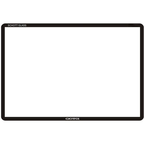 "Giottos Aegis Professional M-C Schott Glass LCD Screen Protector for Wide 2.5"" LCDs with Extended Bases"