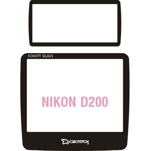 Giottos Aegis Professional M-C Schott Glass LCD Screen Protector for Nikon D200 / Fujifilm FinePix S5 Pro