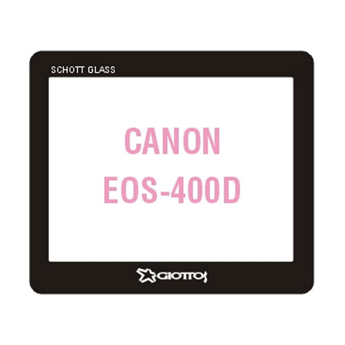 Giottos Aegis Professional M-C Schott Glass LCD Screen Protector for Canon EOS Digital Rebel XTi/400D