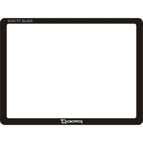 Giottos Aegis Professional M-C Schott Glass LCD Screen Protector for Nikon D3 / D3x / D3s and Fuji X-S1