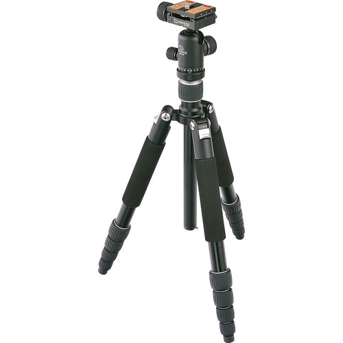 Giottos VGR9255-S2N 5-Section Aluminum Tripod/Monopod with Ballhead