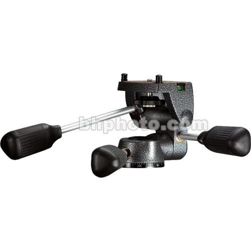 Gitzo G-2271M Rationnelle Magnesium 3-Way Pan/Tilt Head, Short Platform - Supports 12.2 lb (6 kg)