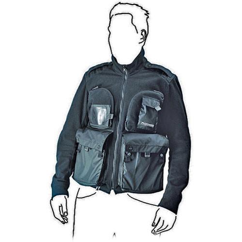 Gitzo Fleece Jacket, Medium (Black)