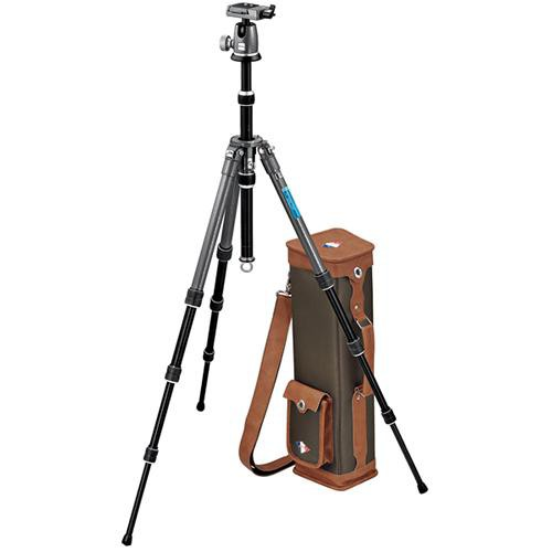 Gitzo GK1380VQR Vintage 4-Section Aluminum Tripod with Ball Head
