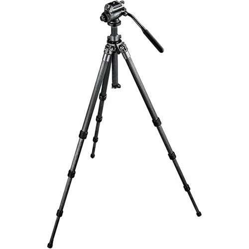 Gitzo Series 2 GK2500LLVLQR Leveling 6X Carbon Fiber Tripod Kit with Fluid Head