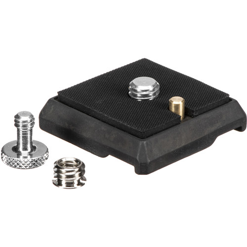 "Gitzo GS5370C Quick Release Plate with 1/4""-20 and 3/8""-16 Screws"