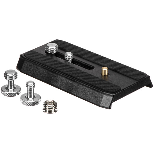 "Gitzo GS5370MC Quick Release Plate (Medium) with 2 1/4""-20 & 2 3/8"" Screws"