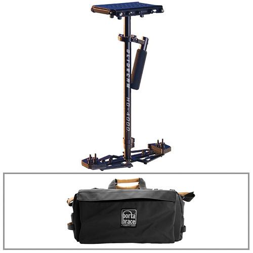 Glidecam HD4000 Stabilizer with Porta Brace Case Kit