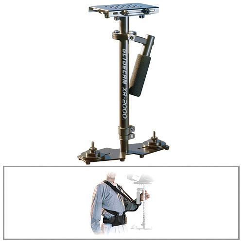 Glidecam XR-2000 Handheld Camera Stabilizer With Body Pod Kit