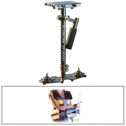 Glidecam XR-2000 Handheld Camera Stabilizer With X-10 Stabilizer Vest Kit