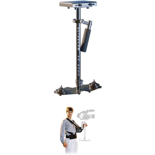 Glidecam XR-4000 Handheld Camera Stabilizer With Body Pod Kit