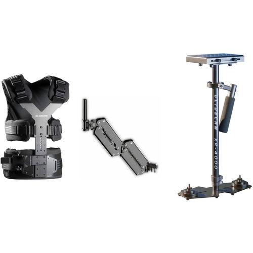 Glidecam XR-4000 Handheld Camera Stabilizer With X-10 Stabilizer Vest Kit