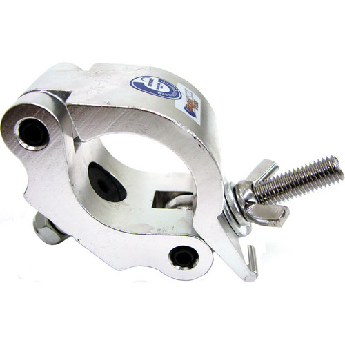 Global Truss Heavy Duty Clamp with M10 Bolt for 50mm Tubing (Silver)
