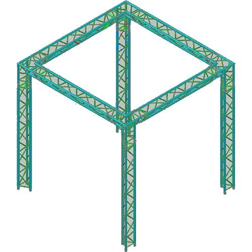 Global Truss TR-10x10 Triangular Booth