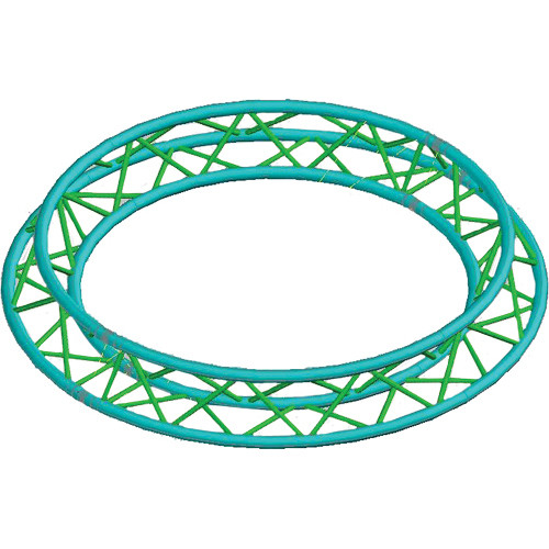 Global Truss Truss Circle for F33 Triangular Truss System (4.92')