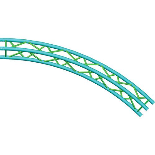 Global Truss Truss Circle for F33 Triangular Truss System (19.68')