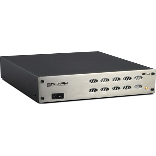 Glyph Technologies 2TB GT062E Triple Interface Tabletop RAID Hard Drive Array