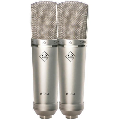 Golden Age Project FC 2 ST Matched Pair of F.E.T. Condenser Microphones