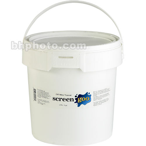 Goo Systems Reference White Finish Coat Acrylic Paint - 3.78 Liters
