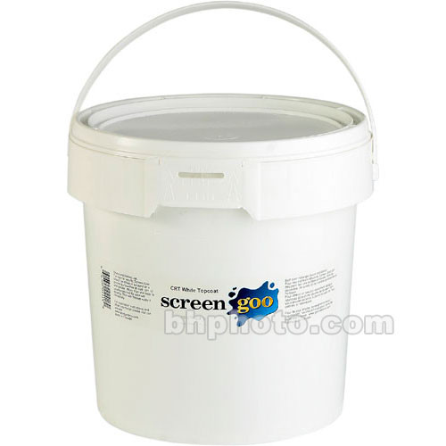 Goo Systems Reference White Finish Coat Acrylic Paint - 16 Liters