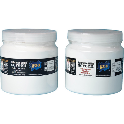 Goo Systems Reference White Screen Goo Pairs (1000ml)