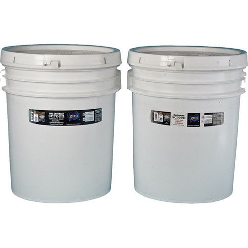 Goo Systems Max Contrast Screen Goo (Pair of 16 Liter Buckets)