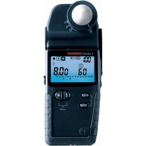 Gossen Starlite 2 Universal Exposure Meter - Incident, Spot, Flash and Photometric Light Meter