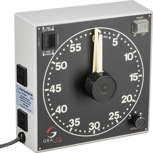 GraLab Model 300 Electro-Mechanical Darkroom Timer - 120V/60/Hz