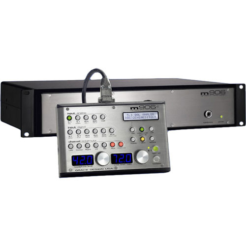 Grace Design m906 - High-Fidelity 5.1 Monitor Controller with Remote