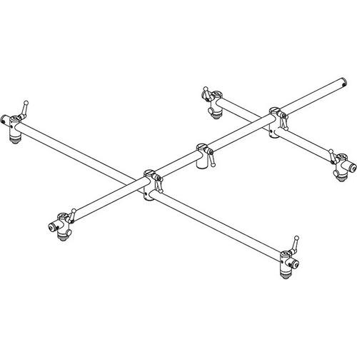 Grace Design SB-SUR 5.1 Surround Microphone Bar  (European Whitworth, 3/8-16 Thread)
