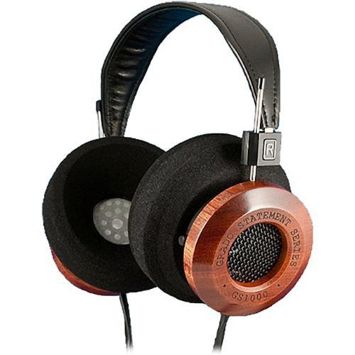 Grado GS1000i Dynamic Circumaural Open-Air Stereo Headphones (Wood/Black)