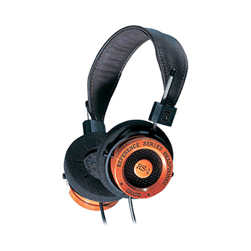 Grado RS1 - Dynamic Open Air Supra-Aural Stereo Headphones (Wood/Black)