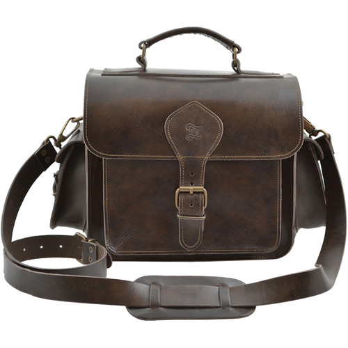 Grafea England Leather Camera Bag (Regular Size, Brown)