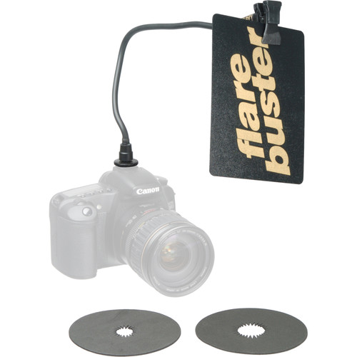 Flare Buster Flexible Arm with Lens shade, Reflectors & Vignettes Kit