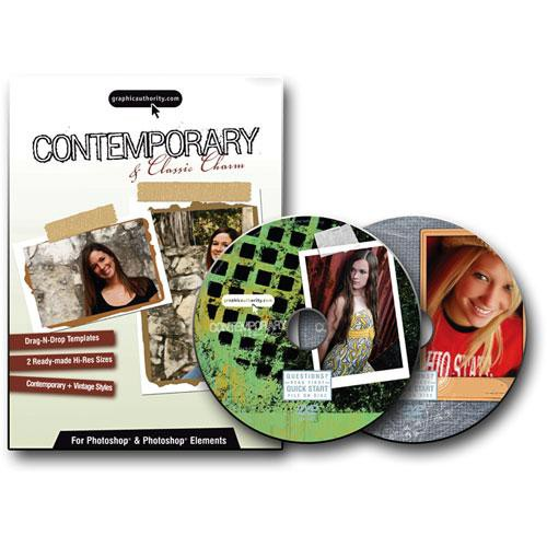 Graphic Authority Contemporary & Classic Charm Photoshop Template Collection