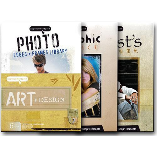 Graphic Authority Art & Design Software Bundle Photoshop Template Collection