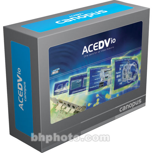 Grass Valley ACEDVIO Ultra - Analog/ DV Video Editing PCI Card without Software
