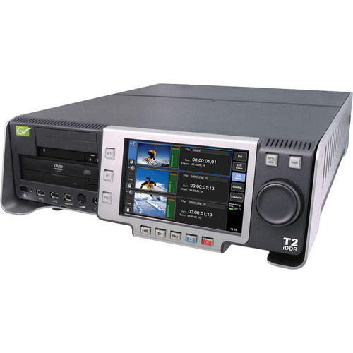Grass Valley T2 iDDR Intelligent Digital Disk Recorder with SSD Drives