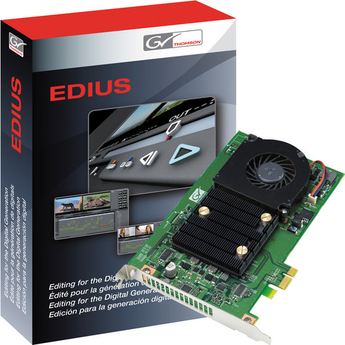 Grass Valley FIRECODER Blu with EDIUS 5 Software