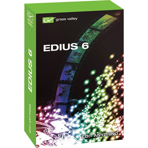 Grass Valley EDIUS 6 Editing Software