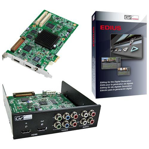Grass Valley Storm Plus HDMI Editing Card with EDIUS 5 Software
