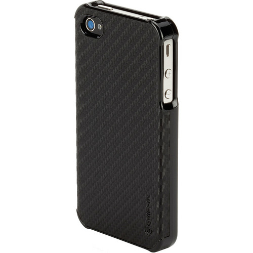 Griffin Technology Elan Form Graphite Case for Apple iPhone 4