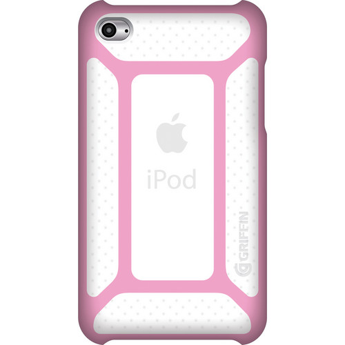 Griffin Technology FormFit for Apple iPod touch 4th Generation Media Player (Pink/Clear)