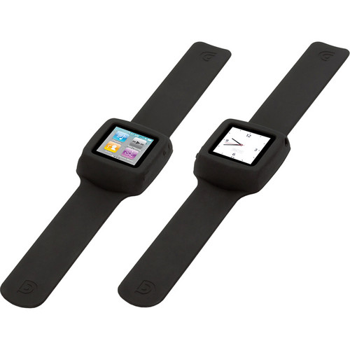Griffin Technology Slap Flexible Wristband for iPod nano 6th Generation Media Player (Black)