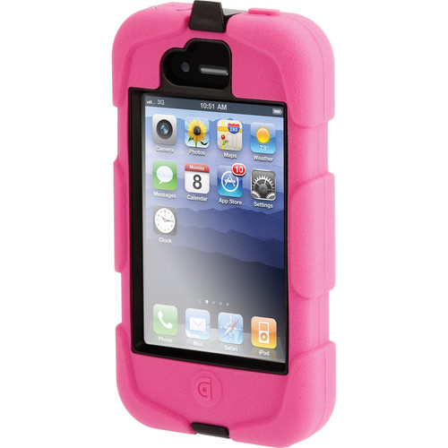 Griffin Technology Survivor Extreme-Duty Case for iPhone 4 & 4S (Pink/Black)