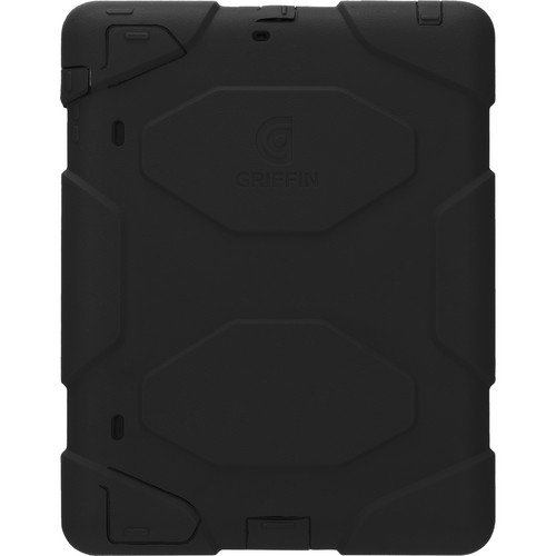 Griffin Technology Survivor All-Terrain Case with Stand for iPad 2nd, 3rd, and 4th Generation (Black/Black)