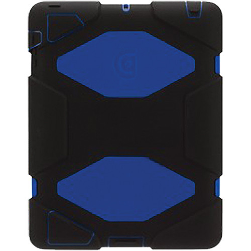 Griffin Technology Survivor All-Terrain Case with Stand for iPad 2nd, 3rd, and 4th Generation (Black/Blue)